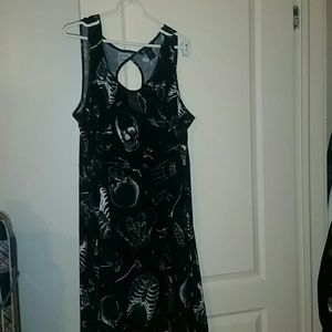 Midnight Hour / Hot Topic Plus Size Skeleton Dress